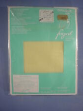 Fogal Style 108 Opaque Nylon Pantyhose Size Mx in Citron