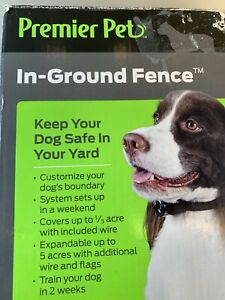 Premier Pet In Ground Fence  Needs Wire