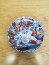 Warm Country Moments Plate Mabel'S Sunny Retreat #1 by Mary Ann Lasher