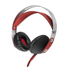 Akai A58032R Classic on Ear Headphones 1000 MW - Red