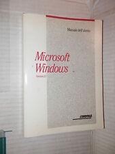 MICROSOFT WINDOWS Version 3.1 Manuale dell utente Compaq 1992 informatica libro