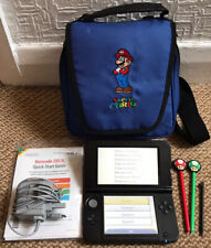*Nintendo 3DS XL Metallic Blue Handheld Console with Styluses, Charger & Case*