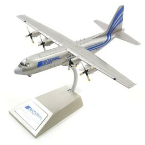 INFLIGHT 200 IF1300117 1/200 NATIONAL AIRLINES L-100-30 HERCULES  S9-BAT W/STAND
