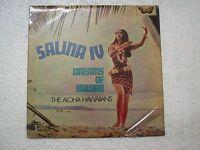 SALINA IV DREAMS OF HAWAII THE ALOHA HAWAIIANS  RARE LP RECORD vinyl   ex