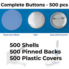2-1/4� 2.25 inch Standard Size Pin Back Button Parts for Button Makers 500 pcs