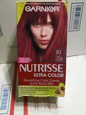 Garnier Nutrisse Ultra Color Nourishing Hair Color Creme R3 Light Intense Auburn