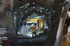 SEMI TRUCK TRUCKER UNSTOPPABLE BIG RIG QUEEN SIZE BLANKET
