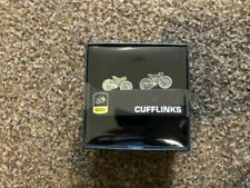 Official Tour De France Cufflinks 3d Bicycles Gift Boxed