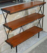 ETAGERE LIBRERIA TEAK Regal ANNI 50 ISA BERGAMO design OLD FORNITURE BOOKCASES