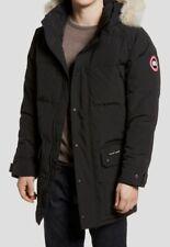 $2630 Canada Goose Men's Black Emory Down Hooded Parka Jacket Coat Size XL