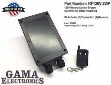 RF Remote 120VAC On-Off or AC Motor Reversing Control - RF120V-2WP