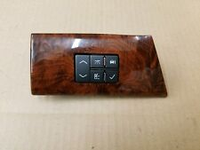 Cadillac OEM 2006-2011 DTS Driver Side Trip Info Computer Switch Panel 15775436