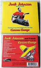 JACK JOHNSON AND FRIENDS Curious George .. 2006 Digipak CD TOP