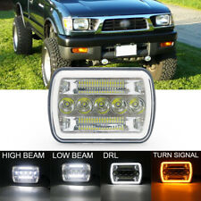 DOT 7x6'' 5x7 LED Headlight DRL Projector Beam for Tacoma Tundra 4Runner Truck