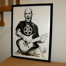 Scott Ian Anthrax Guitar Singer Heavy Metal Music 18x24 Wall Art Poster Print