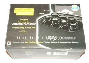 Infinity Pro by Conair Instant Heat Conical & Straight Hot Rollers Model: HS62