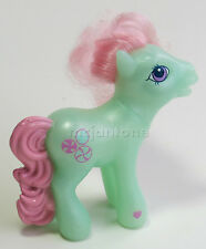 LOOSE McDonald's 2005 My Little Pony MINTY Toy Hair MLP Green Horse CAKE TOPPER