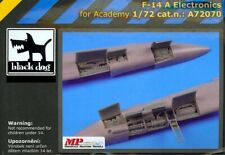 Blackdog Models 1/72 GRUMMAN F-14A TOMCAT ELECTRONICS Resin Detail Set