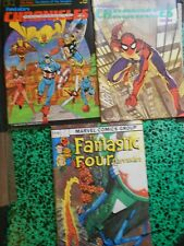 Lot de 3 revues US Chronicles: Avengers Spider-Man Fantastic Four Rare et neuf!