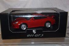 X 34*1/18 * PORSCHE 911 GT 3 * rosso * BURAGO * stato da collezione * COME NUOVO * OVP *