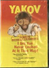 YAKOV - FAMOUS RUSSIAN COMEDIAN DVD Bet You Never Looked At It That Way *Sealed*