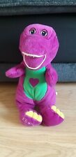 "Fisher Price 2004 Mattel BARNEY & FRIENDS - Barney Sing Toy 12"" tested vgc"
