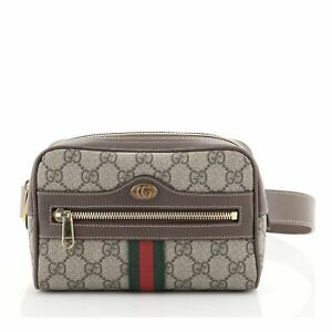 Gucci Ophidia Belt Bag GG Coated Canvas Small