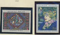 France Stamps Scott #1113 To 1117, Mint Never Hinged