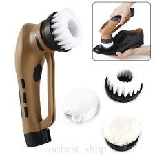 Multi Shoe Polisher Machine Cleaning Brushes Electric Shoe Shine Kit for Shoes