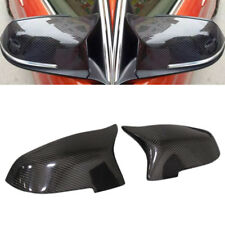 For BMW 5 6 7series F10 14-16 F07 F06 F01 Carbon Fiber Side Mirror Cover Caps