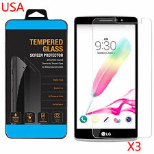 3 X TEMPERED GORILLA GLASS SCREEN PROTECTOR For LG G STYLO LS770 USA