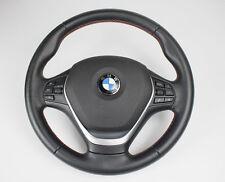 Original bmw cuero volante deportivo 1er 3er f20 f30 multifunción, control de crucero, airbag