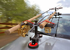SUMO MAGNET MOUNT CAR TOP FISHING ROD CARRIER#SUMO-MAG RODMOUNTS MAX SPEED 45MPH