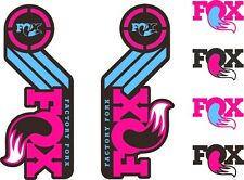 FOX Racing Shox AM Heritage Sticker Decal 2015 Kit Fork/Shock Set Purple Pink