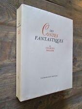 Les Contes fantastiques de Charles NODIER.- Illustrés par M. Prassinos.-H.C. nté