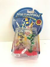 MegaMan NT Warrior Mattel Battlechip Guard1 ElecMan VS WoodShield Style G5833