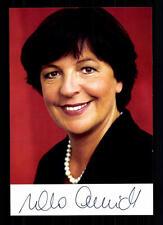 Ursula Schmidt AUTOGRAFO MAPPA ORIGINALE FIRMATO # BC 29600