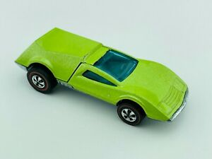 Hot Wheels Redline BUZZ OFF Fluorescent Green Enamel EX/NM 1973 !!! Tough car!!
