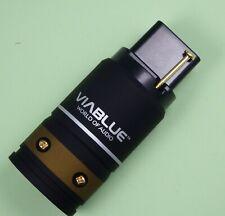 ViaBlue™ T6s WARMGERÄTEBUCHSE IEC C19 STECKER 24K vergoldet 30620