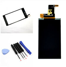 LCD Display Glass + Black Touch Screen For Sony Xperia M2 D2302 D2303 D2305