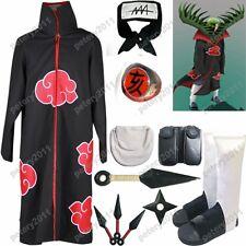 Naruto Akatsuki cloak Zetsu Cosplay Costume