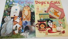 Lot of 2 Tole Painting books Dogs & Cat Tales Bohlen & Kooler Design Studio