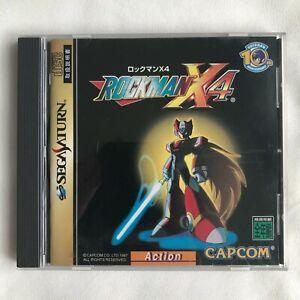Sega saturn rockman X4 1997 Japan Mega Man X4