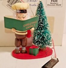 "🔥 Kurt Adler Hershey's Elf Christmas Ornament (1993) 4 inch ""Christmas Carols"""