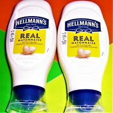 HELLMANNS Real Mayonnaise 860ml 2x430ml Squeezy 808g €0.58/100ml