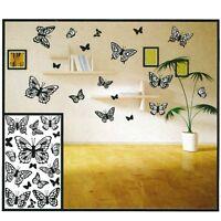 3D Schmetterlinge Butterfly Wanddeko Wandtattoo Wandaufkleber Dekoration