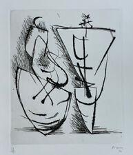 Henry Moore Original Etching S/N