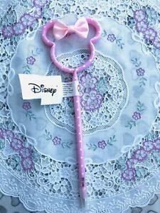 Disney Minnie Mouse Head 3D shaped pink pen New Primark