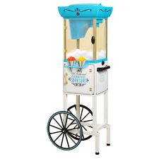 NEW Nostalgia Electrics SCC399 Vintage Collection Snow Cone Cart Machine