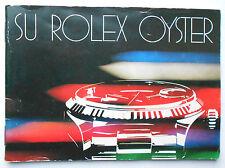 ROLEX Su Rolex Oyster ESPAÑOL Booklet Libretto VINTAGE ref. 579.24 Sp